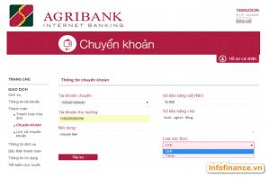 Agribank e-mobile banking có chuyển khoản cho ngân hàng khác được không?
