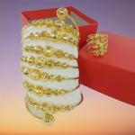 Vòng bi xoắn ốc vàng 18k giá bao nhiêu 2021?