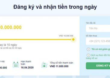 Senmo Vay Tiền online nhanh 2021 – Khoản vay siêu tốc 1-10tr chỉ cần CMND