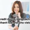 Vietcredit đòi nợ bằng cách gì, Cách thanh toán nợ cho vietcredit