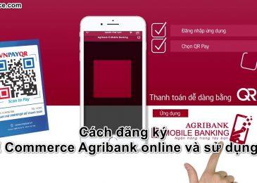 Cách đăng ký E Commerce Agribank online, phí và sử dụng 2020