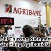 Phí Thường Niên năm Ngân Hàng Agribank là gì? [Update 2020]