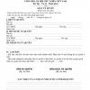 Mẫu giấy Ủy Quyền Vay Tiền Thế Chấp sổ đỏ ngân hàng [Link tải về]