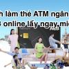 Cách làm thẻ ATM ngân hàng ACB online lấy ngay 2020 miễn phí