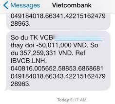 Ảnh số dư tài khoản Vietcombank khủng. 4 Cách kiểm tra 2021