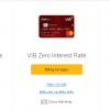 Các Loại Thẻ ATM của Ngân Hàng VIB và Biểu phí 2020