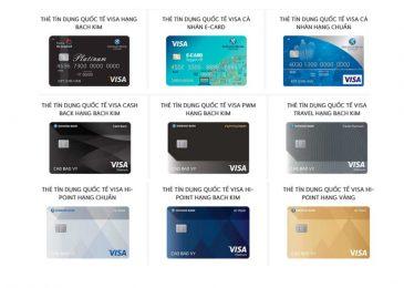 Các Loại Thẻ ATM của Ngân Hàng Shinhan Bank và Biểu phí 2021