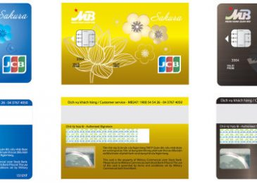 Các Loại Thẻ ATM của Ngân Hàng Mb Bank và Biểu phí 2020