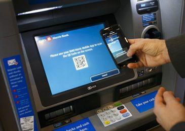 Cách rút tền bằng mã QR của các ngân hàng tại cây ATM, Không cần thẻ