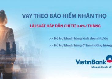 Vay tiền theo bảo hiểm nhân thọ Vietinbank 2021: Lãi suất và hồ sơ