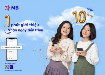 Mã giới thiệu Mb bank, cách lấy và kiếm tiền bằng app mbbank 2021