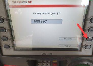 Cách rút tiền bằng mã QR Techcombank 2021. Không cần thẻ ATM nhanh dễ