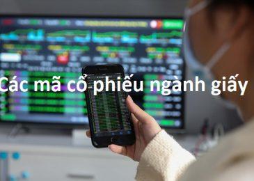 Các mã cổ phiếu ngành Giấy tốt trên sàn chứng khoán 2021