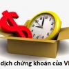 Thời gian, Giờ giao dịch chứng khoán VnDirect trong ngày mới cập nhật 2021
